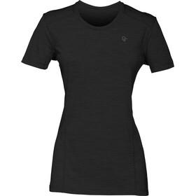 Norrøna Wool t-shirt Dames zwart